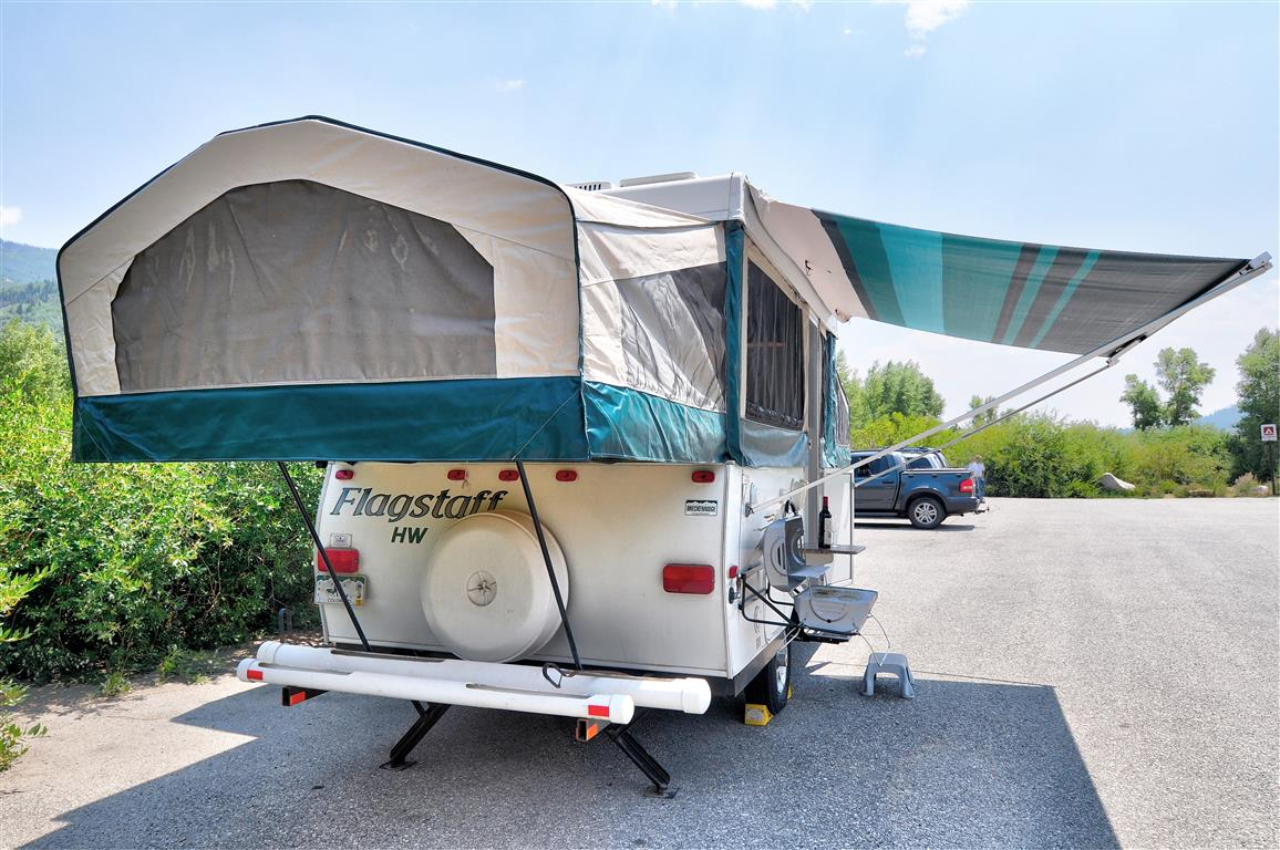 Pop Up Camper Gasgrill : A frame pop up camper mid florida camper rentals tampa travel